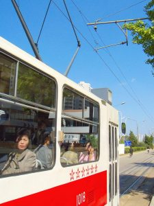 Трамвай, Пхеньян