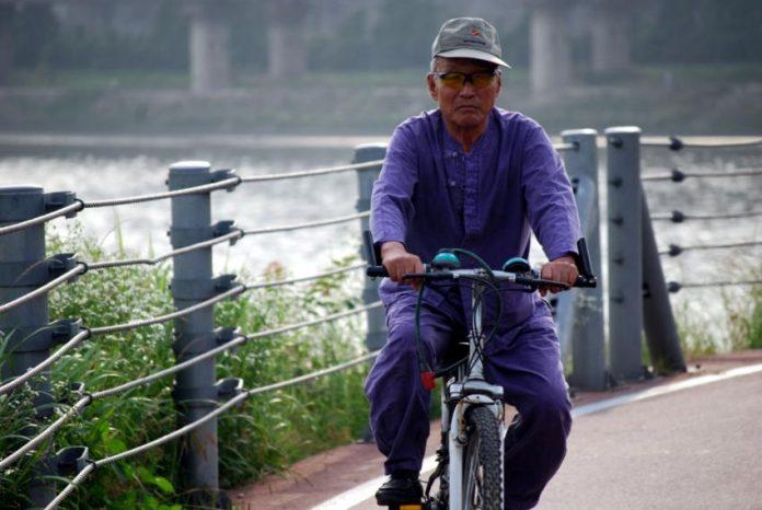 Корейский пенсионер