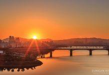 Рассвет в Корее