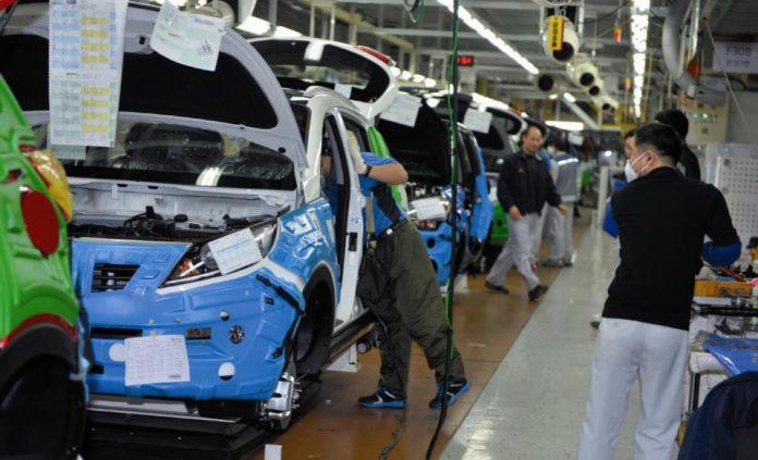 Производственная линия Hyundai