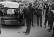 Похороны Ким Ён Сам