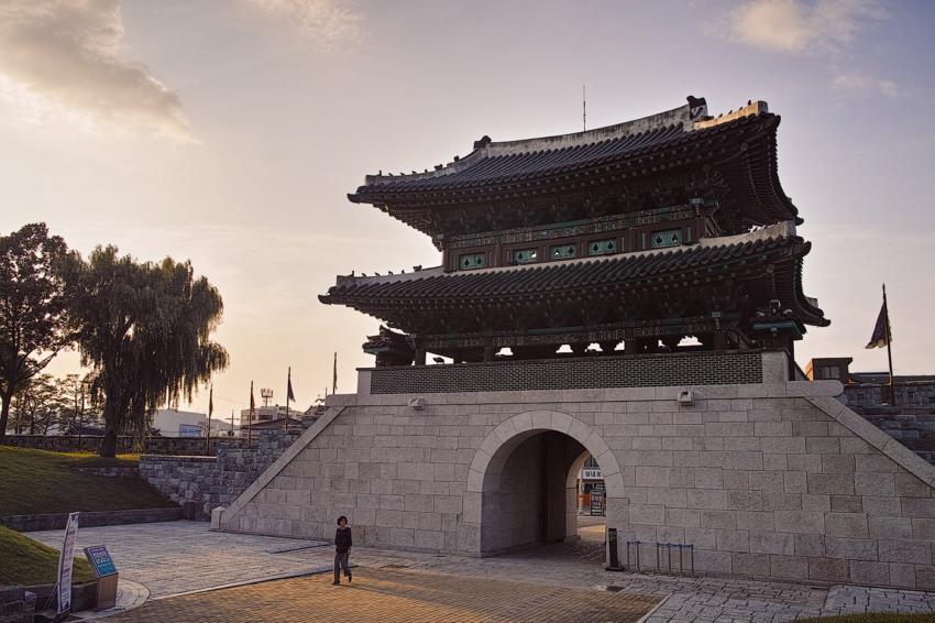 Крепость Чинджусон, город Чинджу