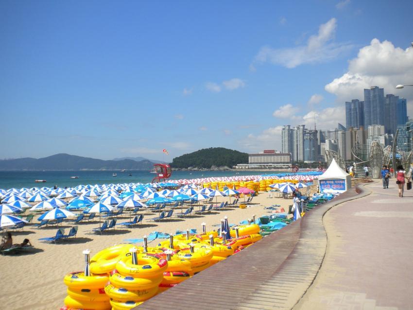 Пляж Haeundae